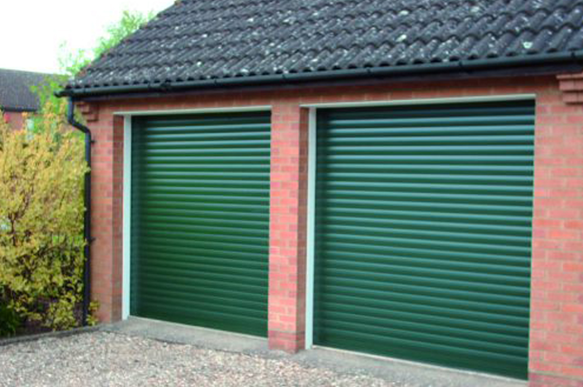 Roller Doors Excel Matching Guides in Green
