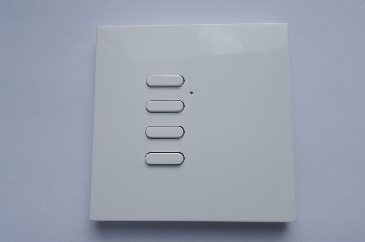 Radio wall switch and radio keypad